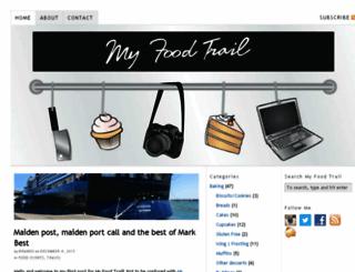 myfoodtrail.blogspot.com screenshot
