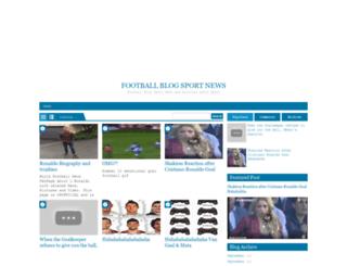 myfootballblogger.blogspot.com screenshot
