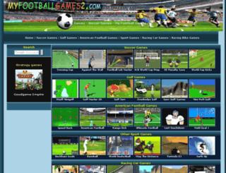 myfootballgames2.com screenshot