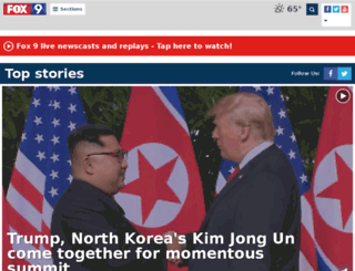 myfoxtwincities.com screenshot
