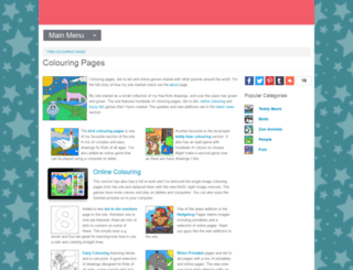 myfreecolouringpages.com screenshot