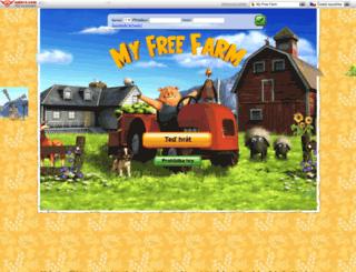 myfreefarm.cz screenshot