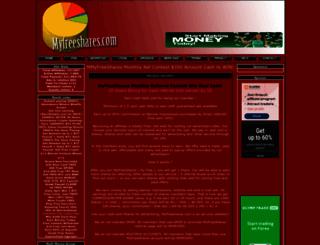 myfreeshares.com screenshot