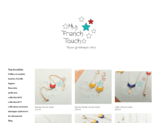 myfrenchtouch.tictail.com screenshot
