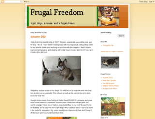 myfrugalfreedom.com screenshot