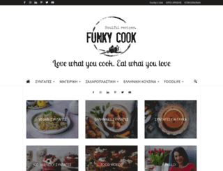 myfunkycook.blogspot.com screenshot