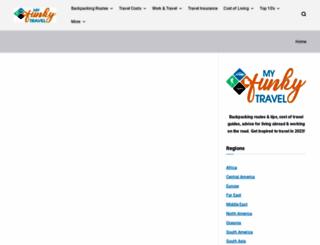 myfunkytravel.com screenshot