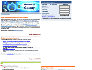 mygalaxy.nycenet.edu screenshot