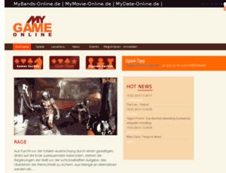mygame-online.de screenshot