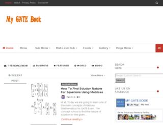 mygatebook.com screenshot