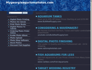 mygeorgiaaquriumphotos.com screenshot