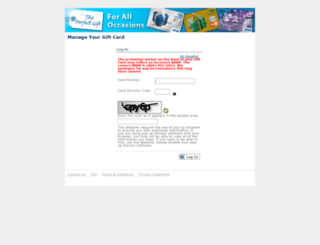 mygiftcardsite.com screenshot