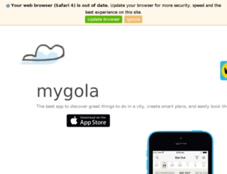 mygola.com screenshot