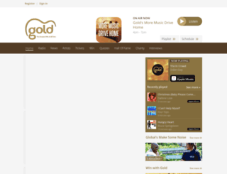 mygoldmusic.co.uk screenshot