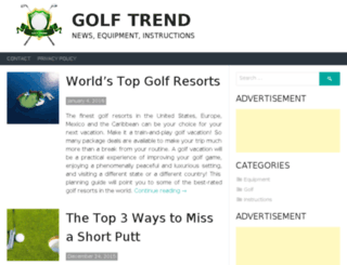 mygolftrend.com screenshot