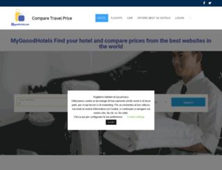 mygoodhotels.com screenshot
