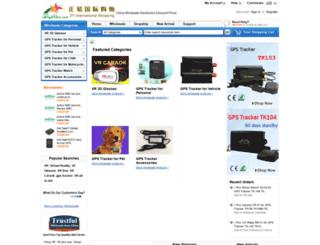 mygpstrackers.com screenshot