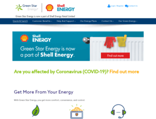 mygreenstarenergy.com screenshot