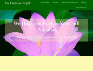 myguidetoinsight.com screenshot