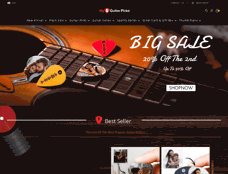 myguitarpicks.com screenshot