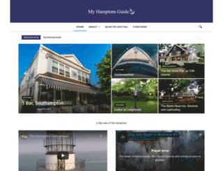 myhamptonsguide.com screenshot