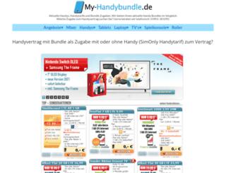 myhandybundle.de screenshot