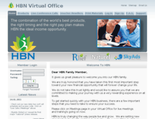 myhbn.org screenshot