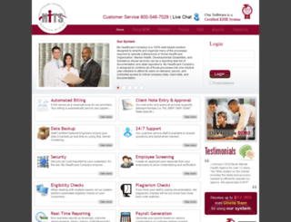 myhealthcarecompany.com screenshot