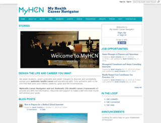myhealthcareernavigator.com screenshot
