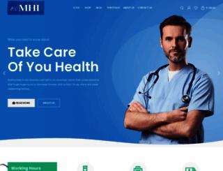 myhealthcareindia.com screenshot