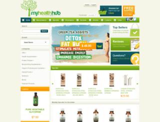 myhealthhub.com.au screenshot