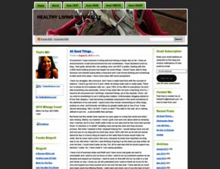 myhealthypassion.wordpress.com screenshot