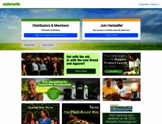 myherbalife.com screenshot