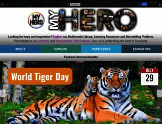 myhero.com screenshot