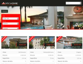 myhome-immobiliare.it screenshot