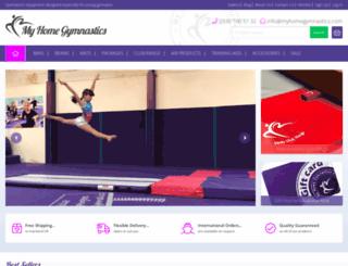 myhomegymnastics.com screenshot
