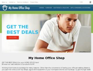 myhomeofficeshop.com screenshot