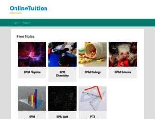 myhometuition.com screenshot
