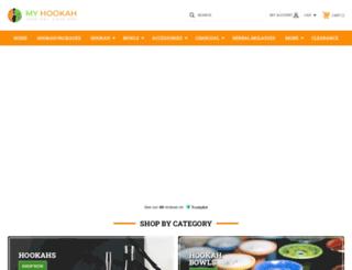 myhookah.ca screenshot