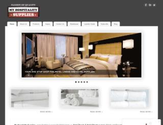 myhospitalitysupplies.com screenshot