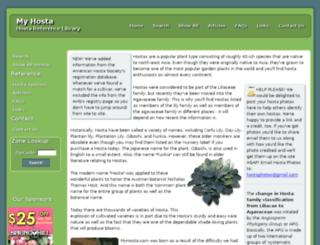 myhostas.com screenshot