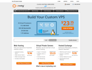 myhosting.com screenshot