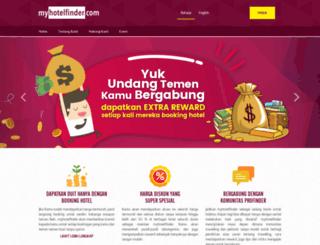 myhotelfinder.com screenshot