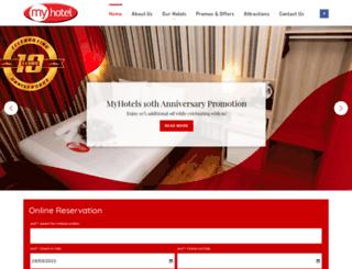 myhotels.com.my screenshot