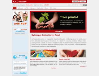 myhotspex.com screenshot
