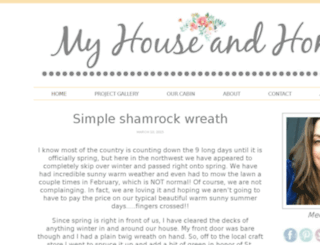 myhouseandhome.squarespace.com screenshot