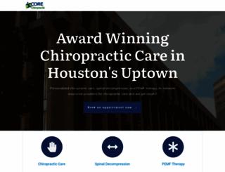 myhoustonchiropractor.com screenshot
