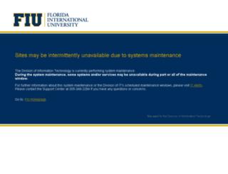 myhr.fiu.edu screenshot