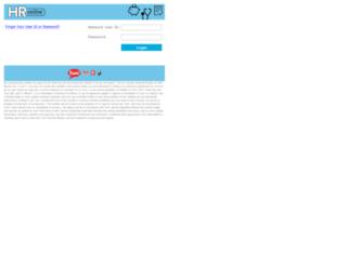 myhronline.yum.com screenshot