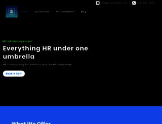 myhrsupplier.com screenshot